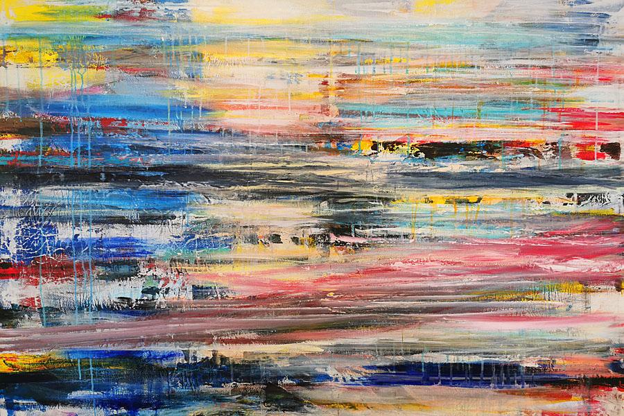 GoldenCircle Wasserbild Sigrid Kiessling-Rossmann oel